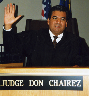 Former Judge Don Chairez has over 30 years of experience in Immigration Law.