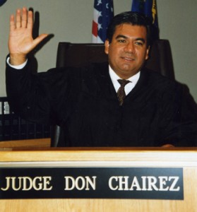 Former Don Chairez has presided over 90 jury trials, many of them involving car accidents.